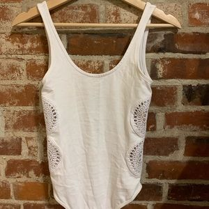 TOPSHOP white bodysuit